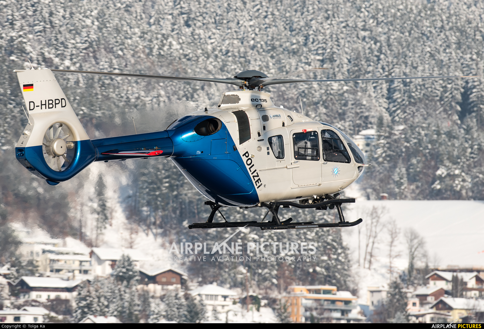 Germany - Police D-HBPD aircraft at Innsbruck