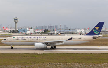 HZ-AQA - Saudi Arabian Airlines Airbus A330-300