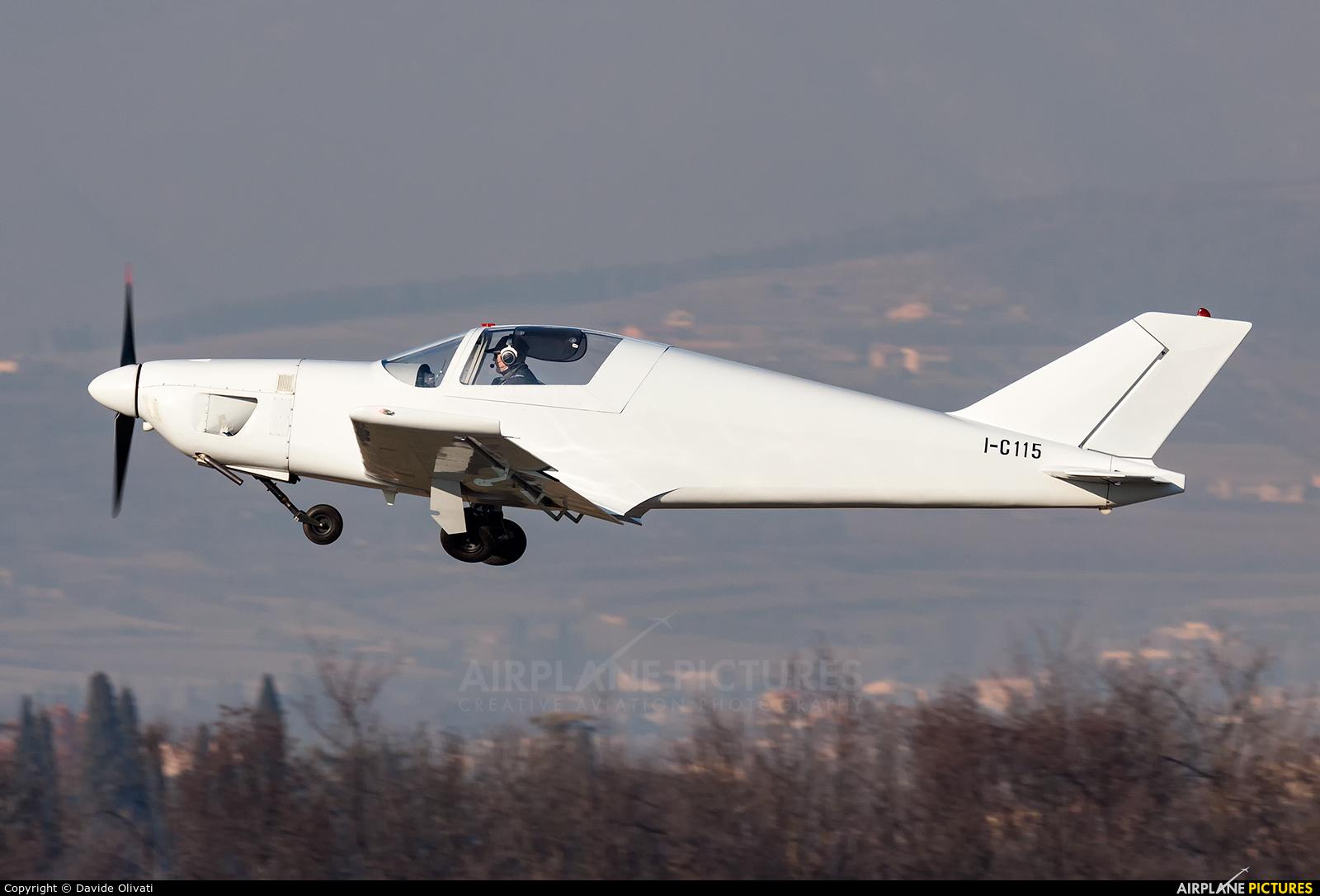 Private I-C115 aircraft at Verona - Boscomantico