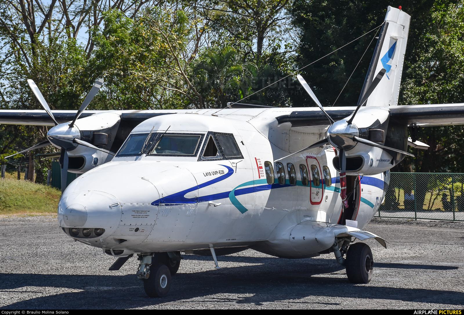 Skyway Costa Rica TI-BGM aircraft at Tambor