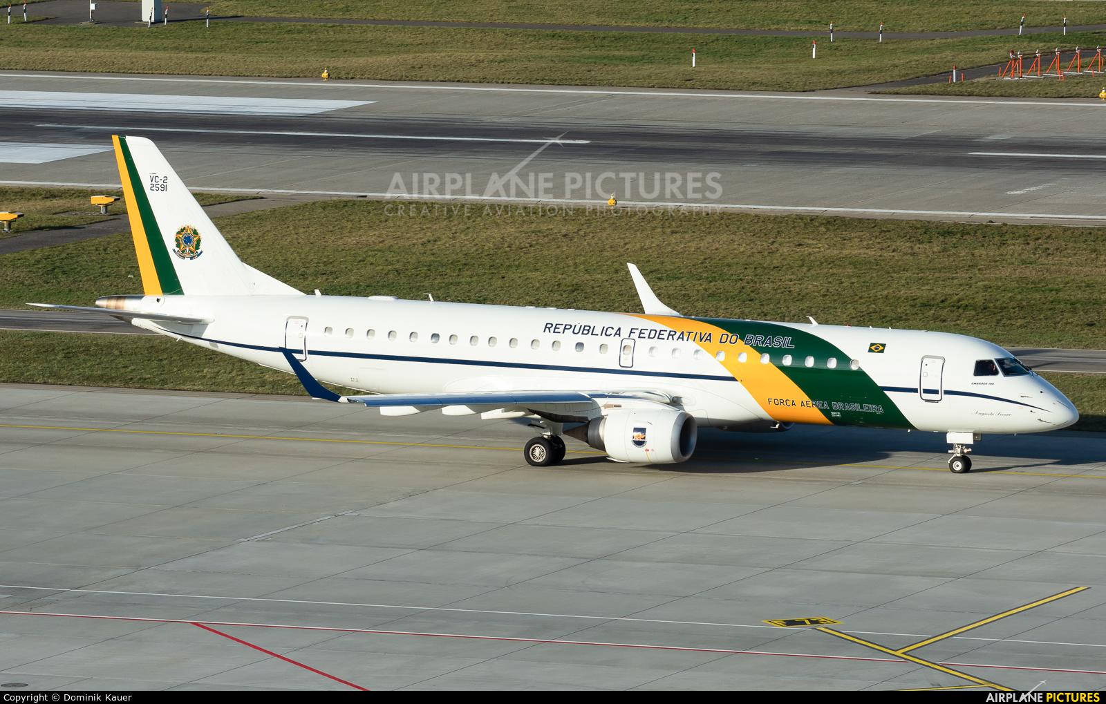 Brazil - Air Force FAB2591 aircraft at Zurich
