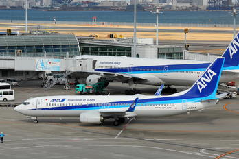 JA90AN - ANA - All Nippon Airways Boeing 737-800