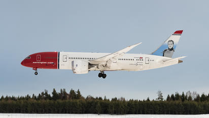 LN-LND - Norwegian Air Shuttle Boeing 787-8 Dreamliner