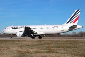 G-GKXZ - Air France Airbus A320