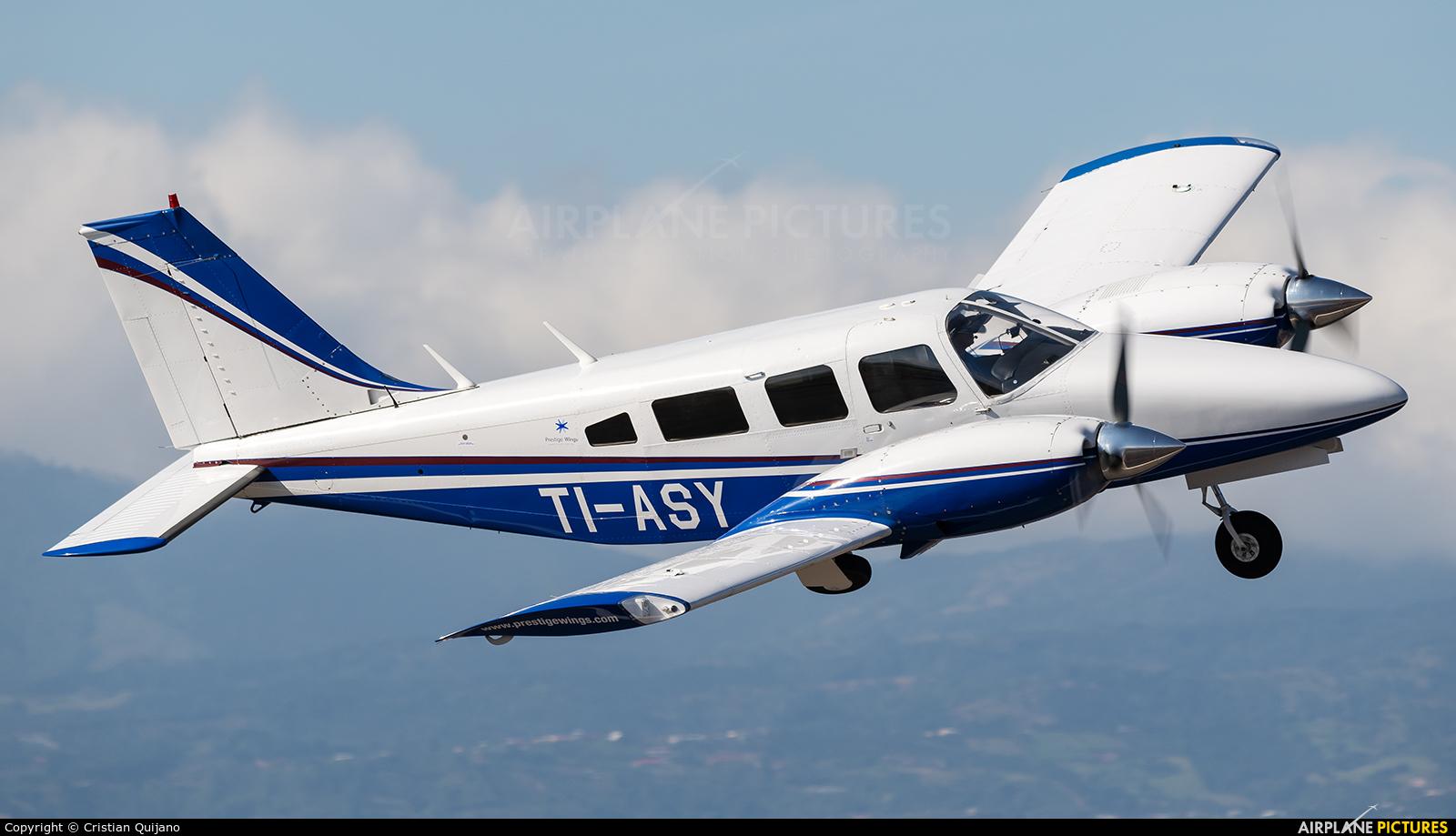 Private TI-ASY aircraft at San Jose - Juan Santamaría Intl