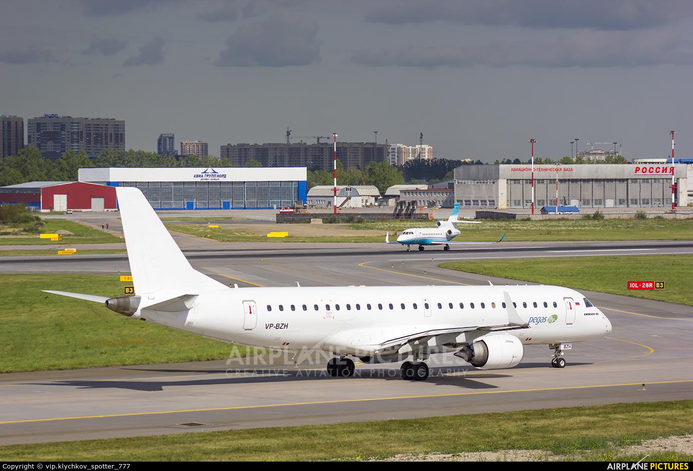 Ikar Airlines VP-BZH aircraft at St. Petersburg - Pulkovo