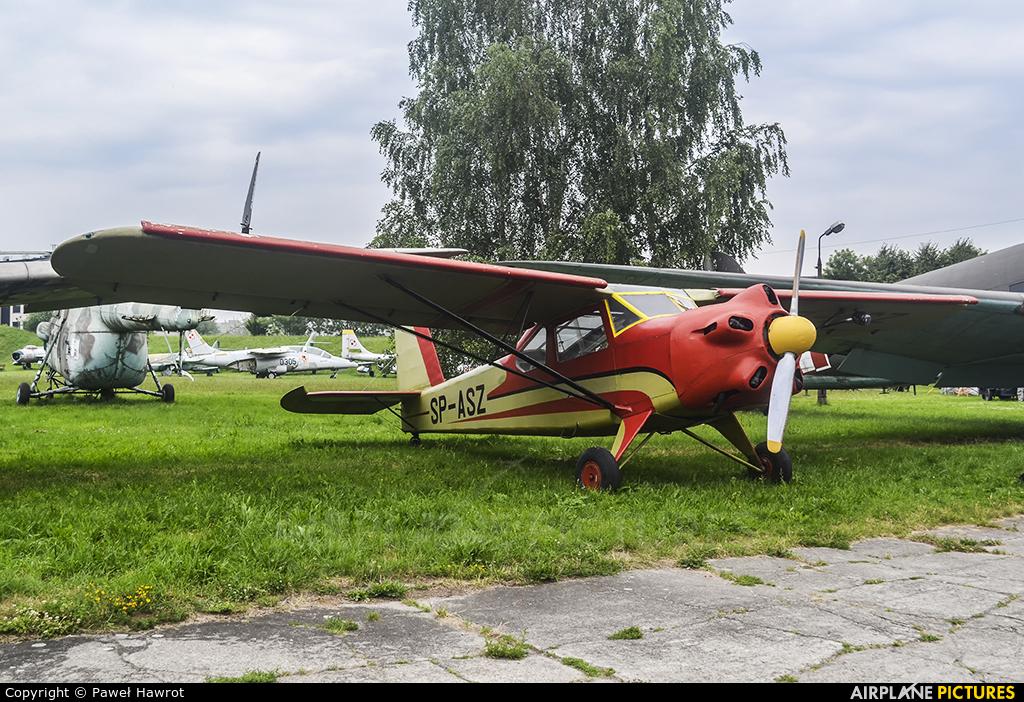 Private SP-ASZ aircraft at Kraków, Rakowice Czyżyny - Museum of Polish Aviation