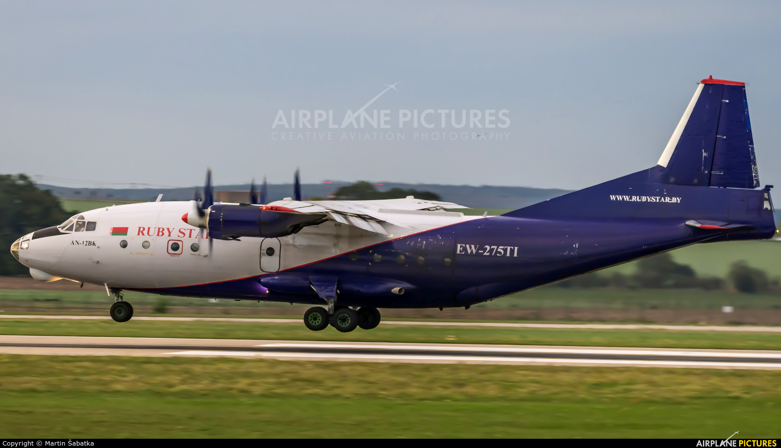 Ruby Star Air Enterprise EW-275TI aircraft at Brno - Tuřany