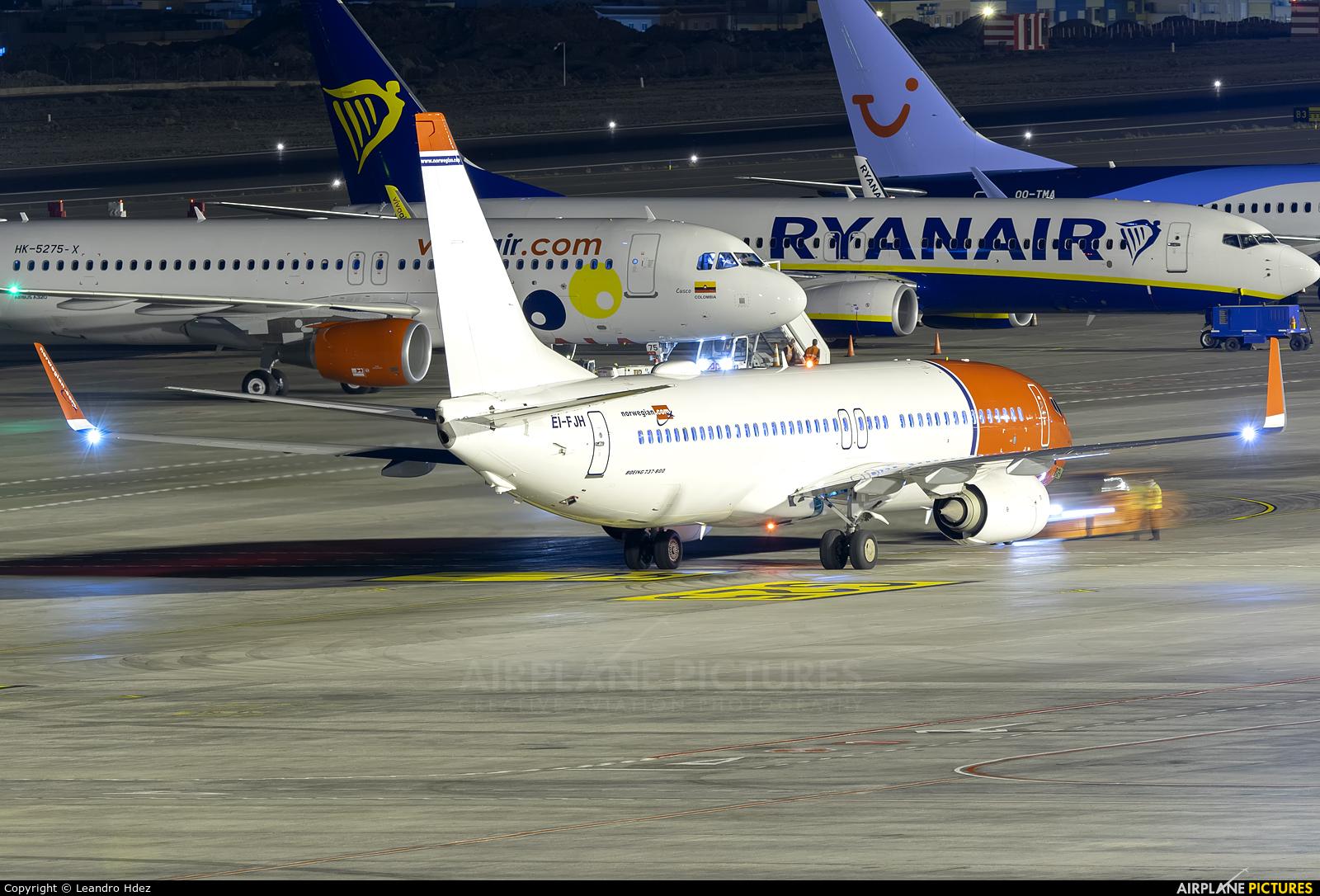 Norwegian Air International EI-FJH aircraft at Tenerife Sur - Reina Sofia
