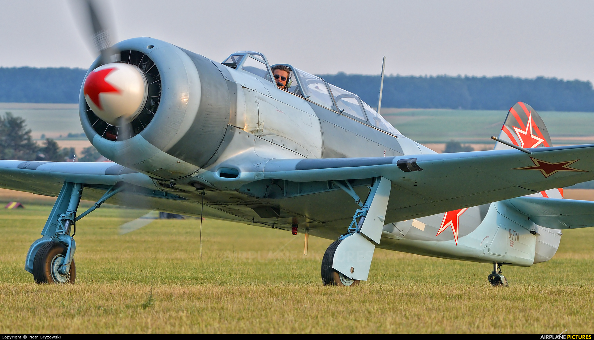 Private D-FYII aircraft at Mladá Boleslav