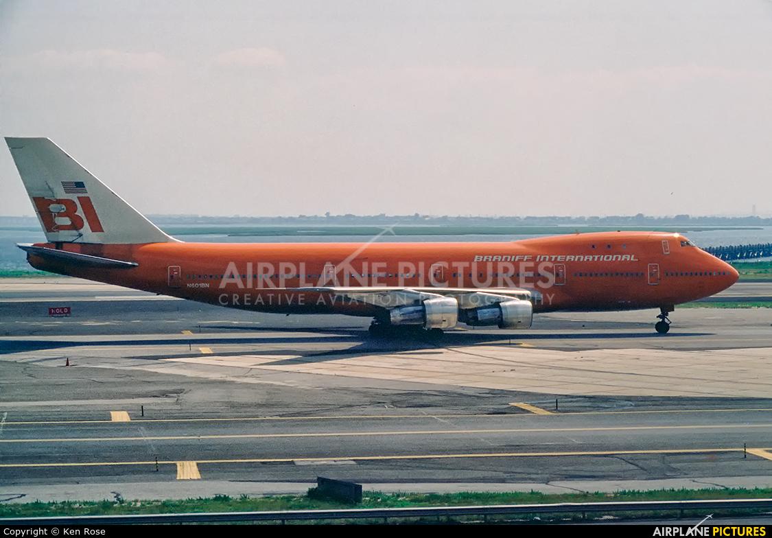 Braniff International N601BN aircraft at New York - John F. Kennedy Intl