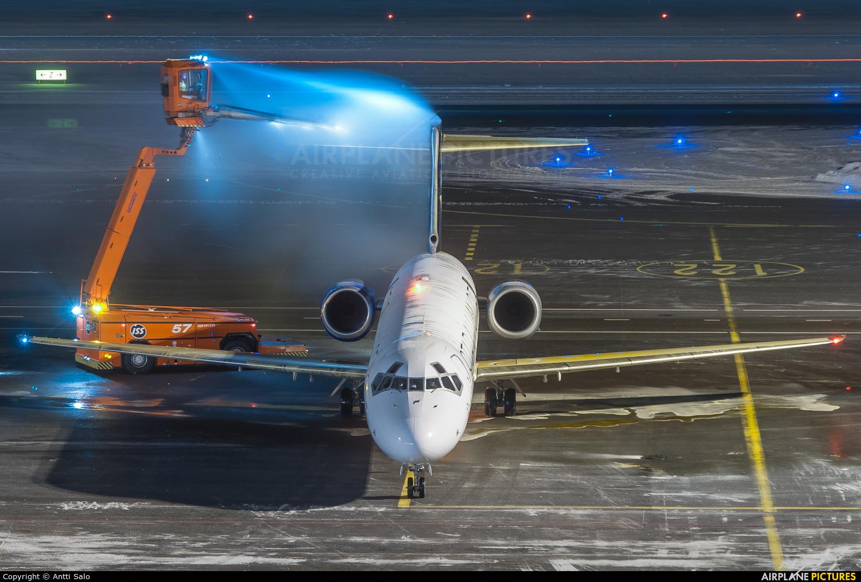 Blue1 OH-BLP aircraft at Helsinki - Vantaa