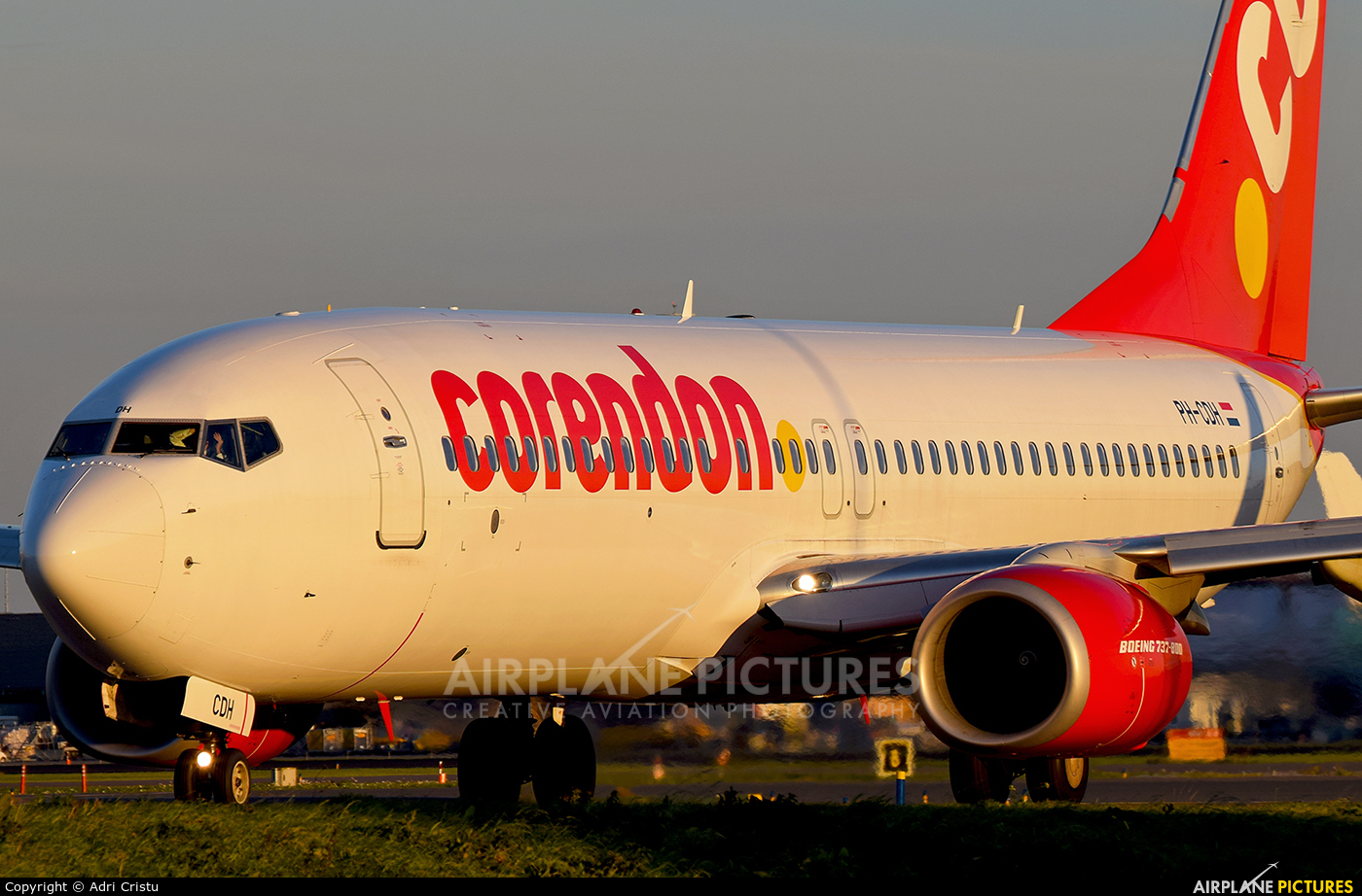 Corendon Dutch Airlines PH-CDH aircraft at Amsterdam - Schiphol