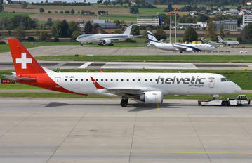 HB-JVL - Helvetic Airways Embraer ERJ-190 (190-100)