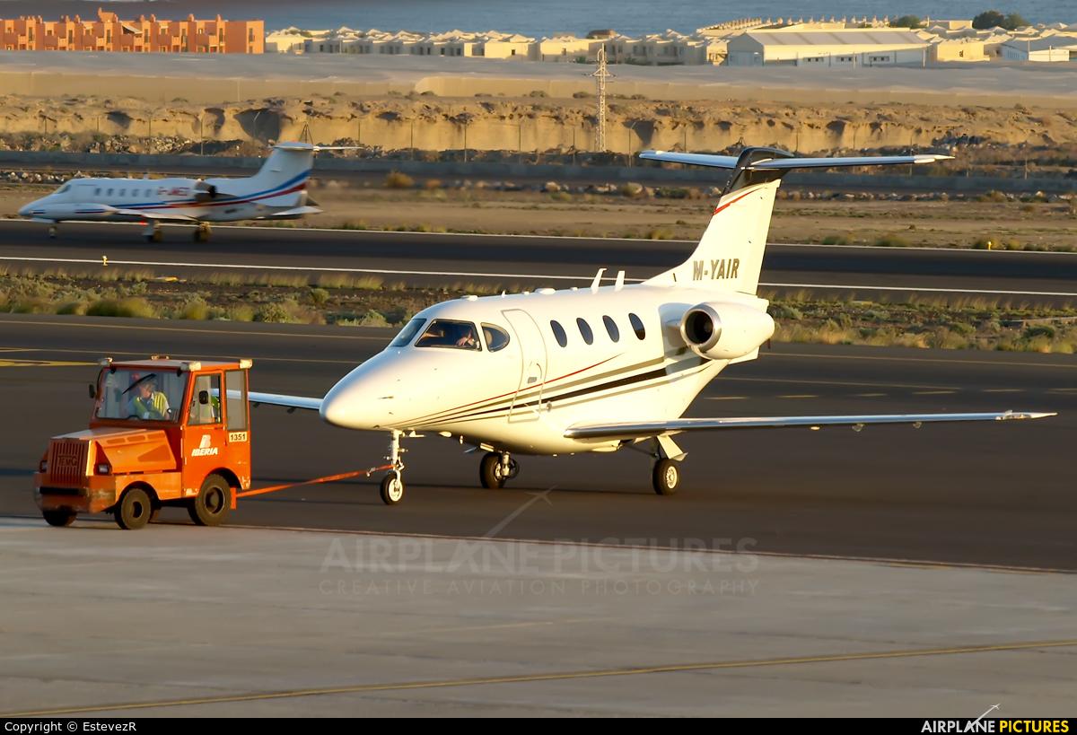 Private M-YAIR aircraft at Tenerife Sur - Reina Sofia