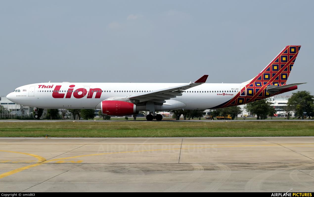 Thai Lion Air HS-LAH aircraft at Bangkok - Don Muang