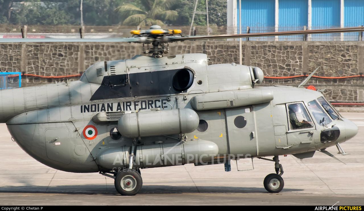 India - Air Force ZP5109 aircraft at Mumbai - Chhatrapati Shivaji Intl