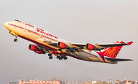 VT-ESO - Air India Boeing 747-400 aircraft