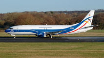 N468VX - CargoLogic Germany Boeing 737-400SF aircraft