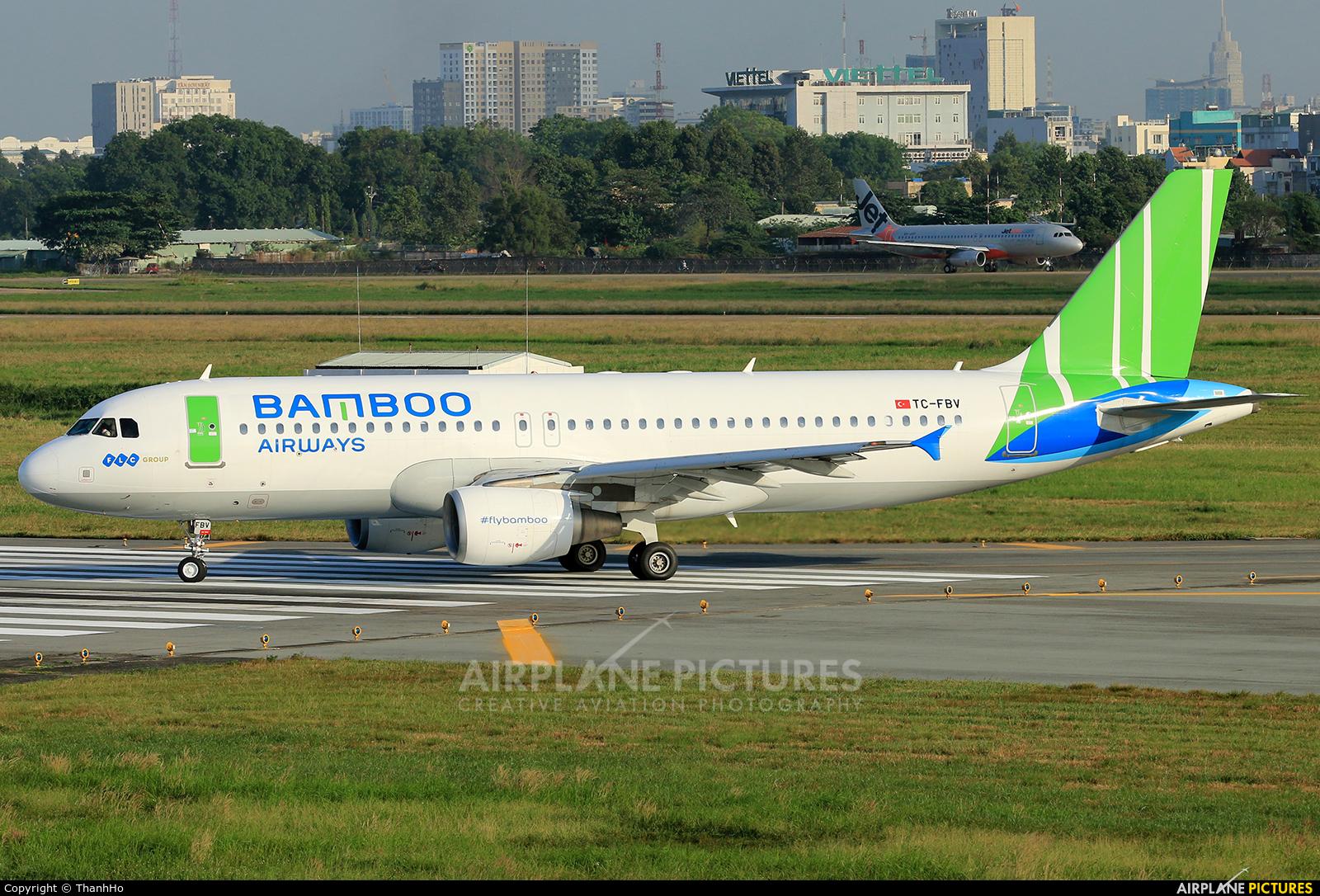 FreeBird Airlines TC-FBV aircraft at Ho Chi Minh City - Tan Son Nhat Intl