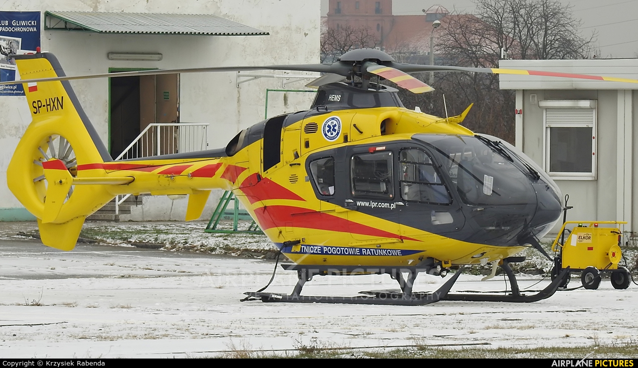 Polish Medical Air Rescue - Lotnicze Pogotowie Ratunkowe SP-HXN aircraft at Gliwice