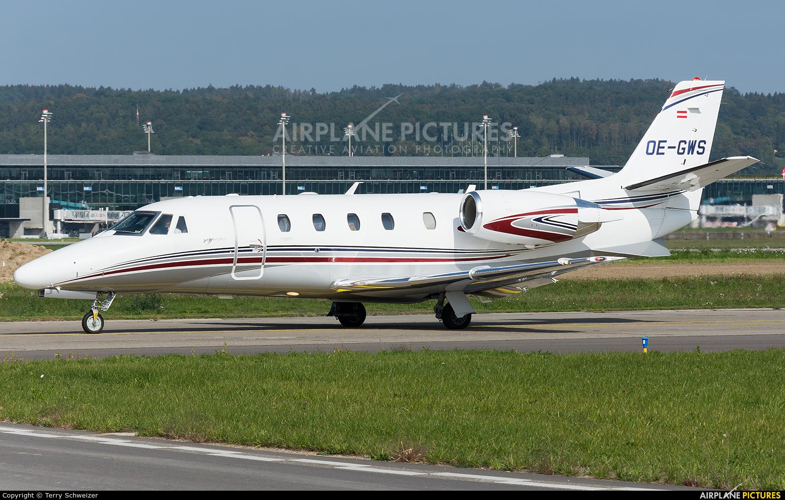 International Jet Management OE-GWS aircraft at Zurich