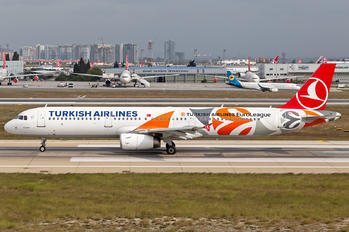 TC-JRO - Turkish Airlines Airbus A321