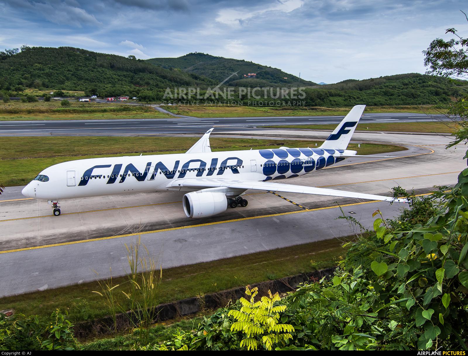 Finnair OH-LWL aircraft at Phuket