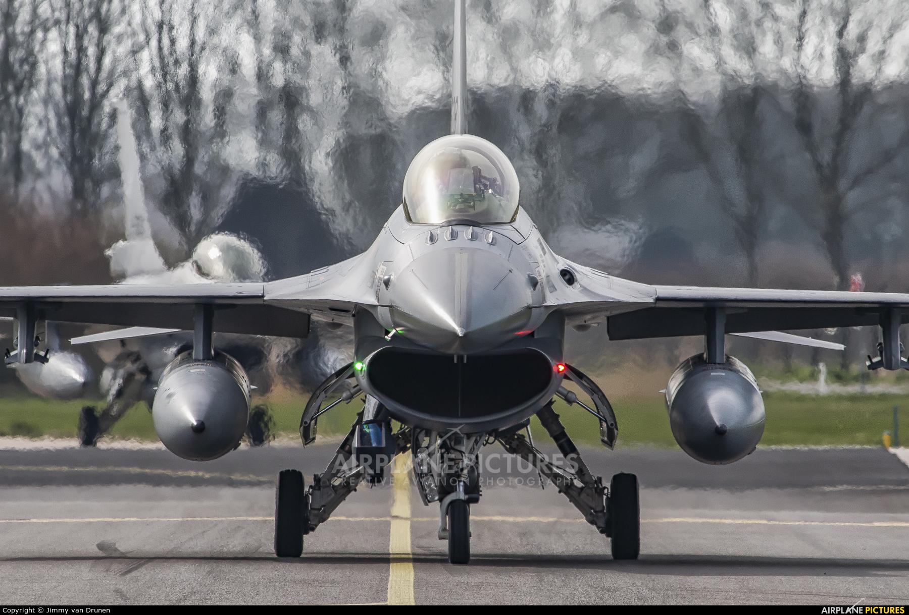 Netherlands - Air Force J-005 aircraft at Leeuwarden