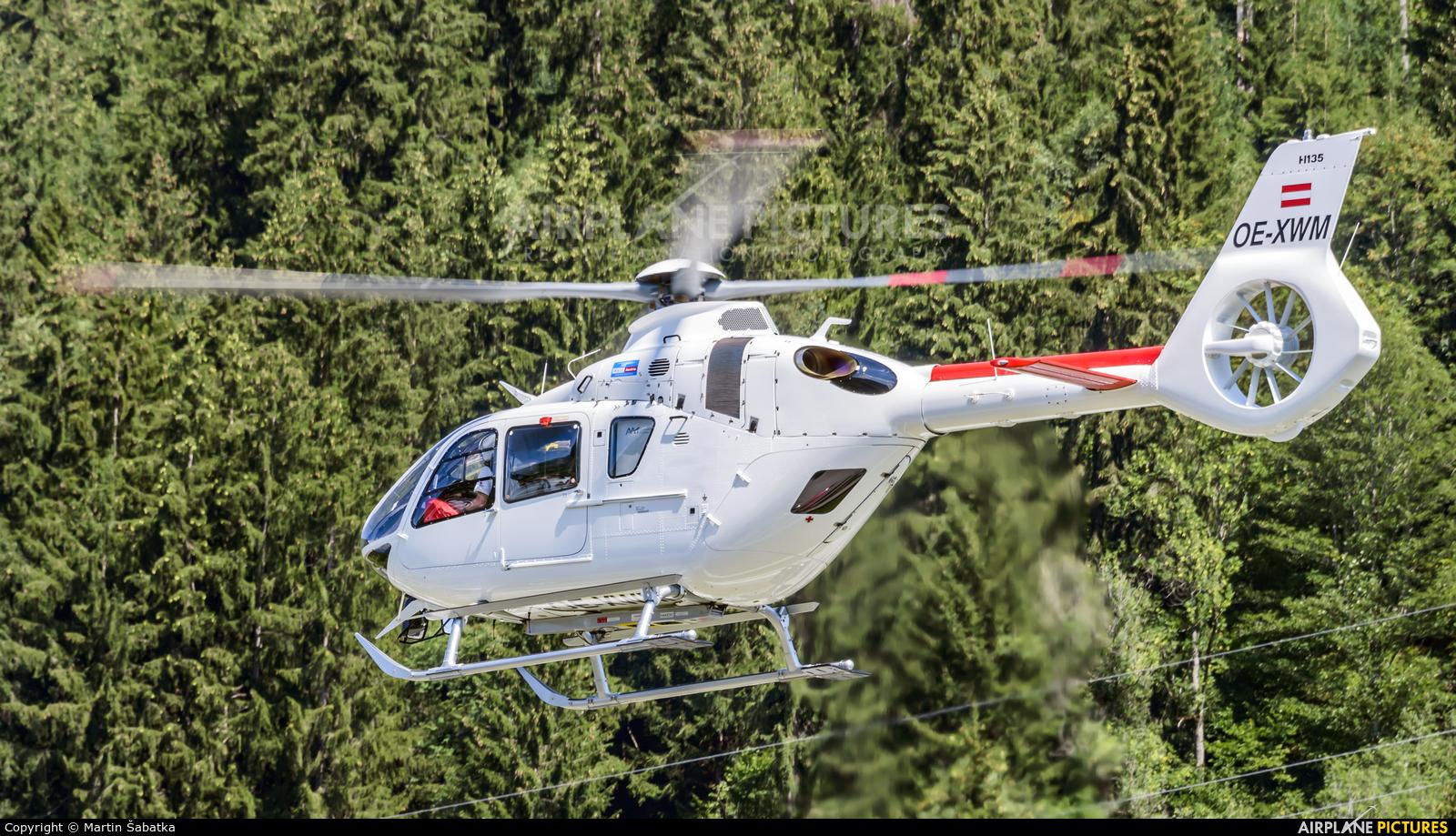 Heli Austria OE-XWM aircraft at Zell am See