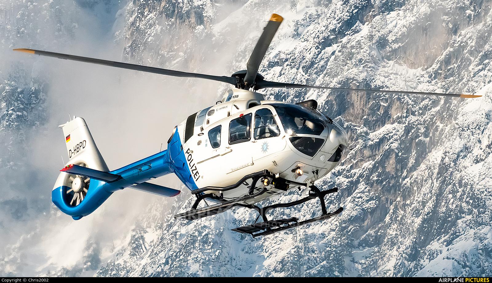 Germany - Police D-HBPD aircraft at Innsbruck