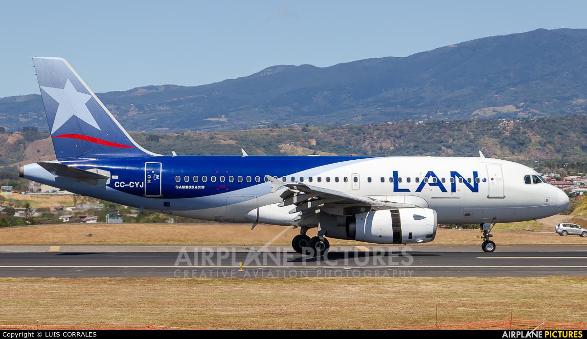 LAN Airlines CC-CYJ aircraft at San Jose - Juan Santamaría Intl