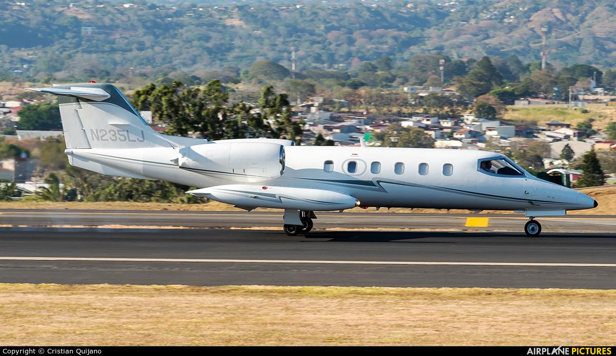 Private N235LJ aircraft at San Jose - Juan Santamaría Intl