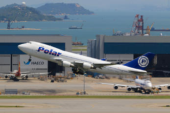N450PA - Polar Air Cargo Boeing 747-400F, ERF