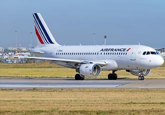 F-GRHX - Air France Airbus A319