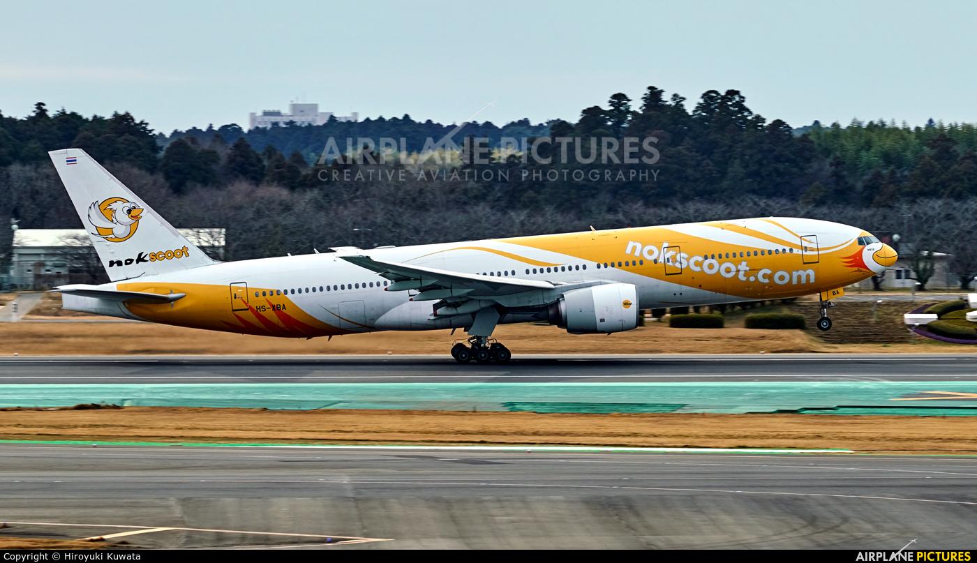Nokscoot HS-XBA aircraft at Tokyo - Narita Intl