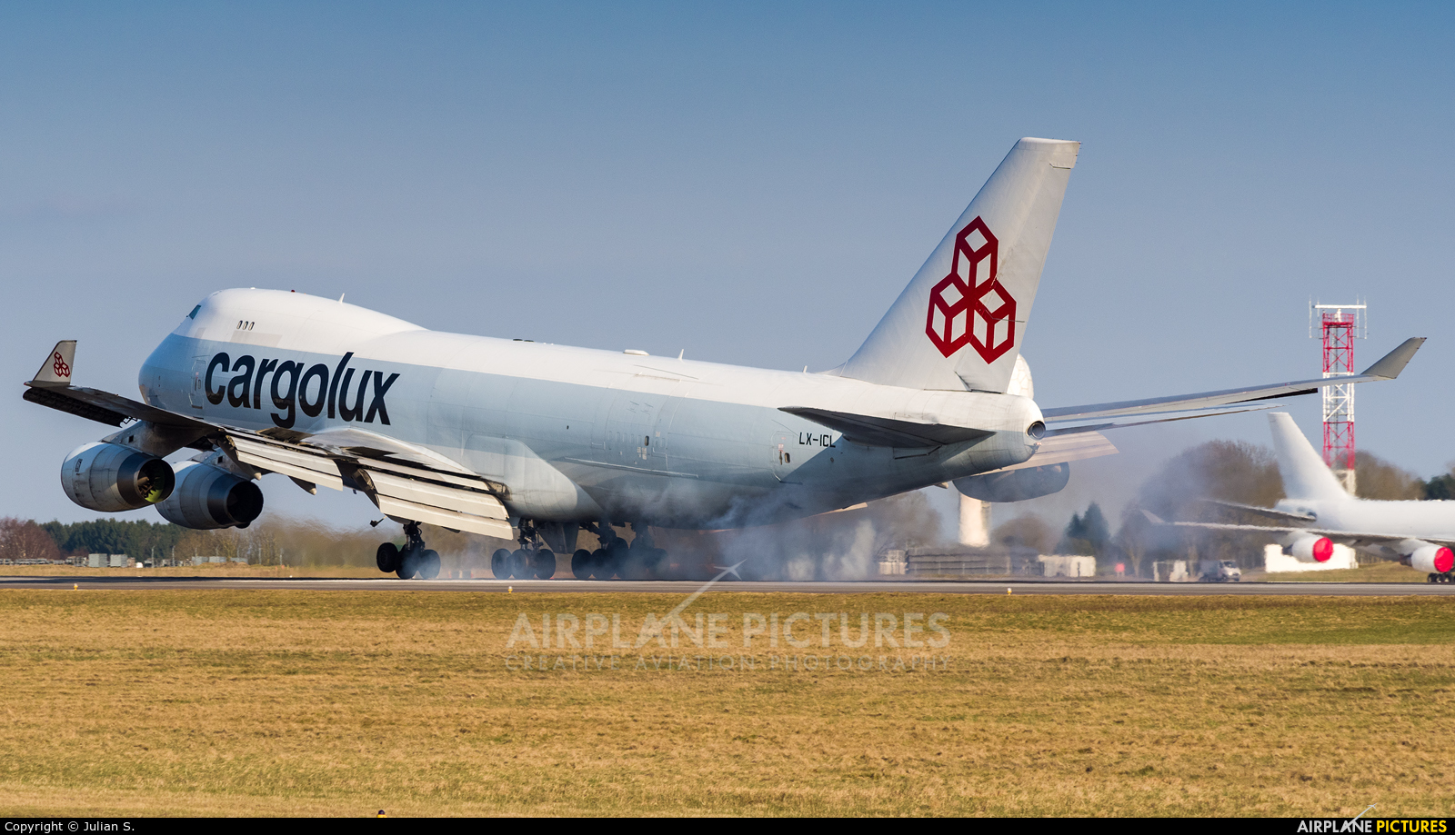 Cargolux LX-ICL aircraft at Luxembourg - Findel
