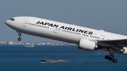 JA751J - JAL - Japan Airlines Boeing 777-300