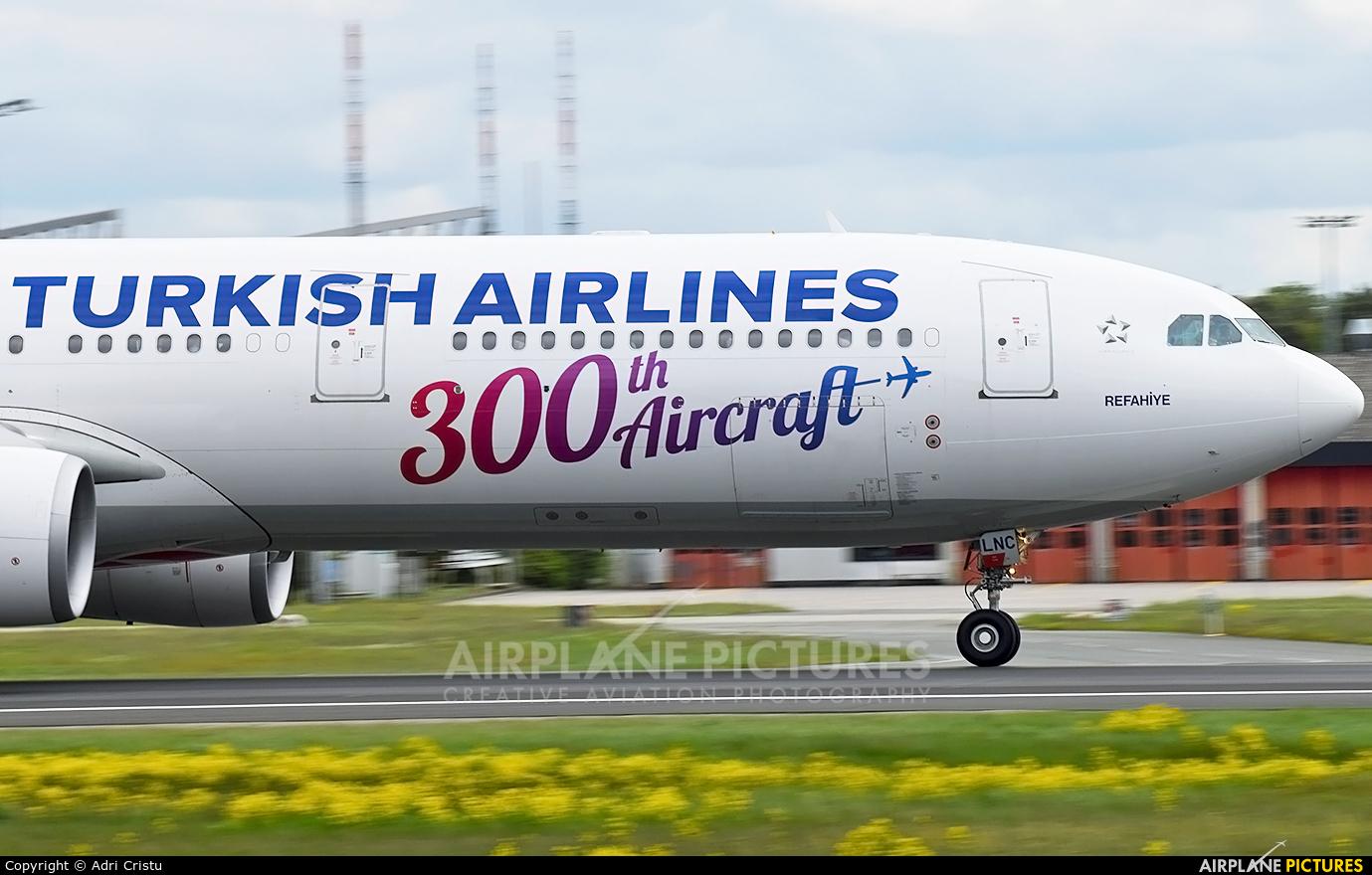 Turkish Airlines TC-LNC aircraft at Frankfurt