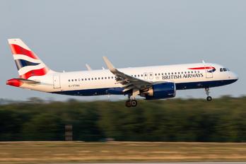 G-TTNA - British Airways Airbus A320 NEO