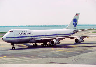 N743PA - Pan Am Boeing 747-100