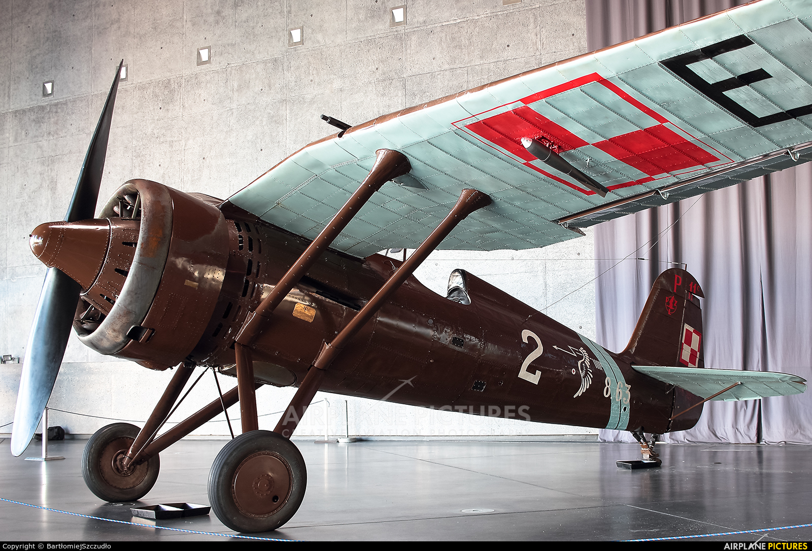 Museum of Polish Aviation 8.63 aircraft at Kraków, Rakowice Czyżyny - Museum of Polish Aviation