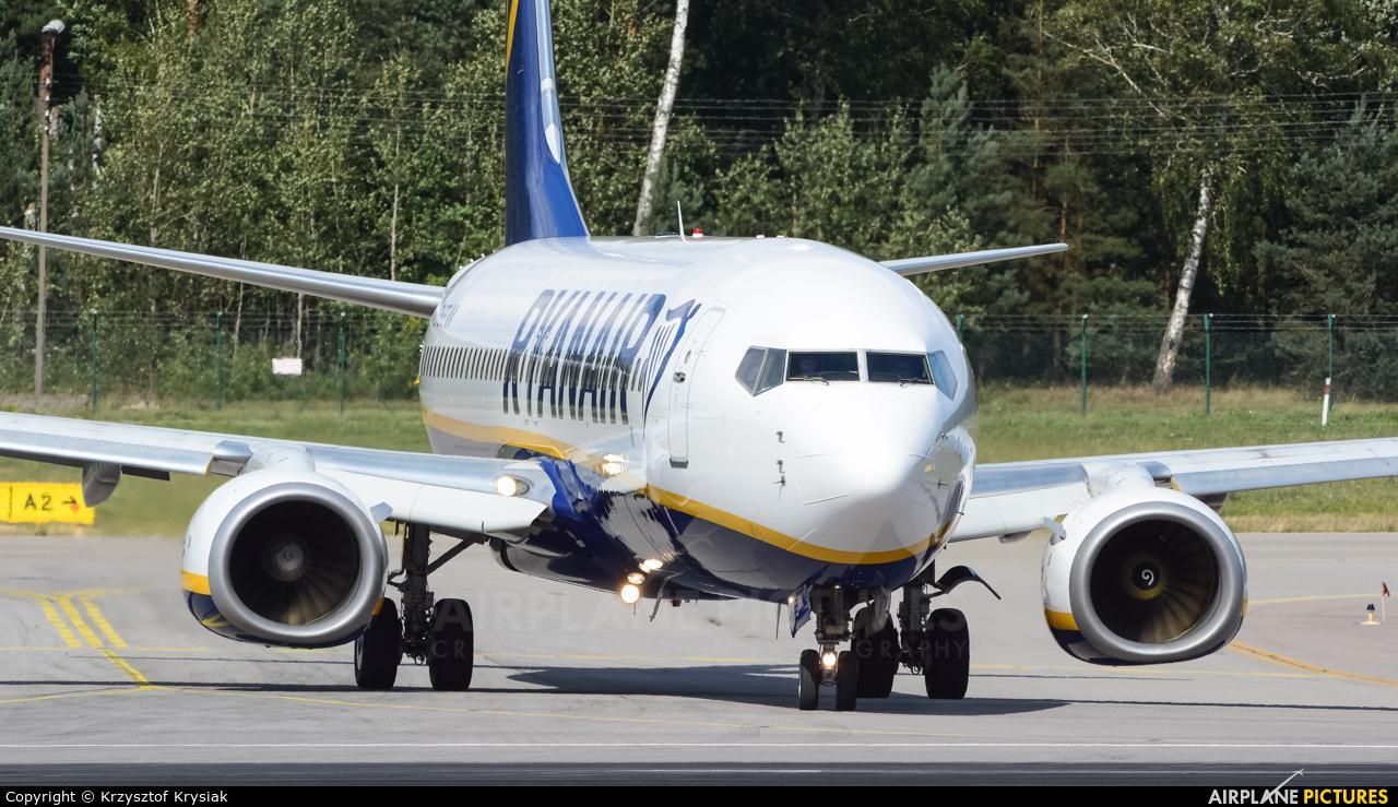Ryanair EI-EFE aircraft at Gdańsk - Lech Wałęsa