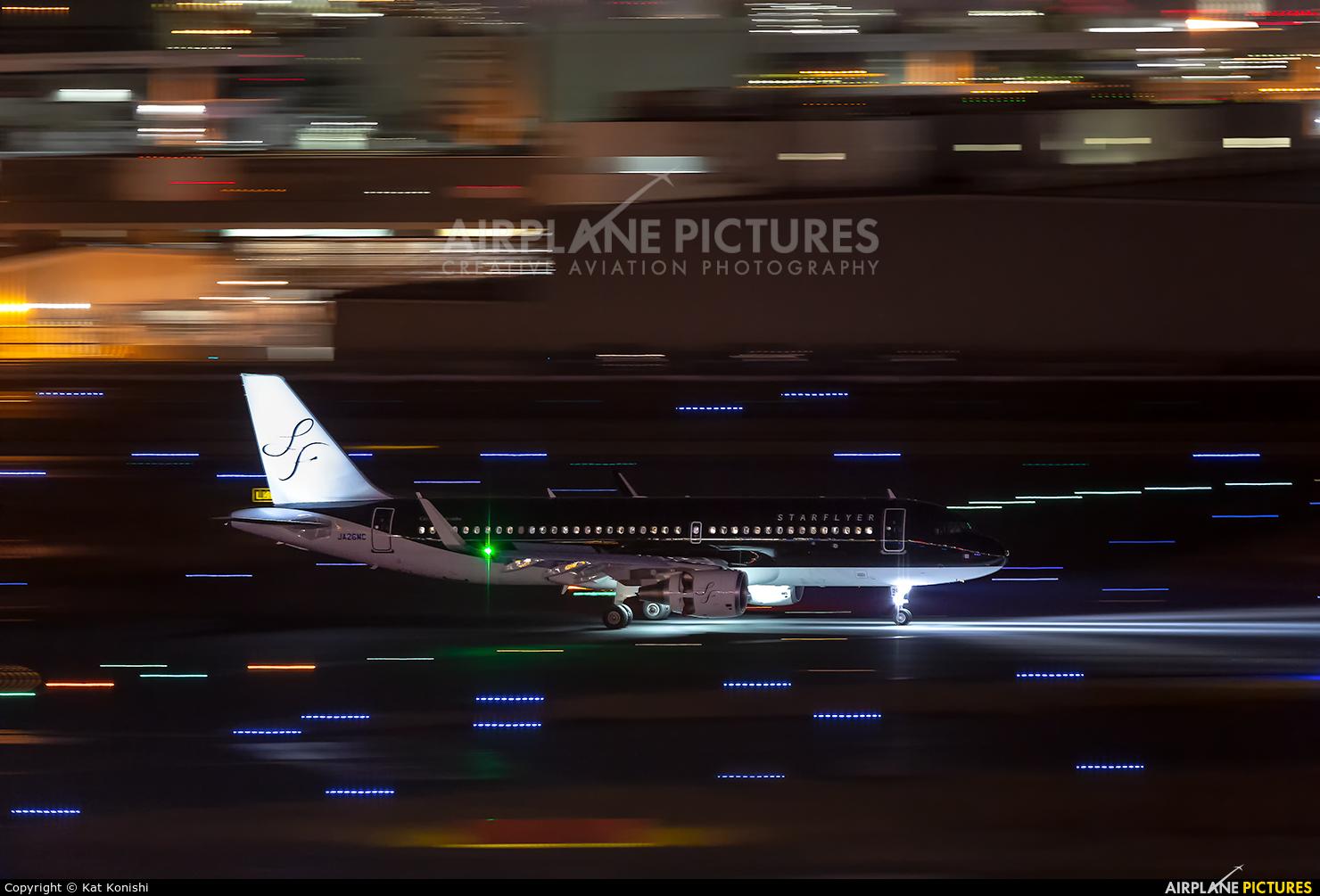 Starflyer JA26MC aircraft at Tokyo - Haneda Intl