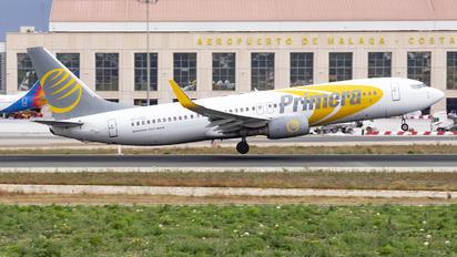 OY-PSE - Primera Air Scandinavia Boeing 737-800