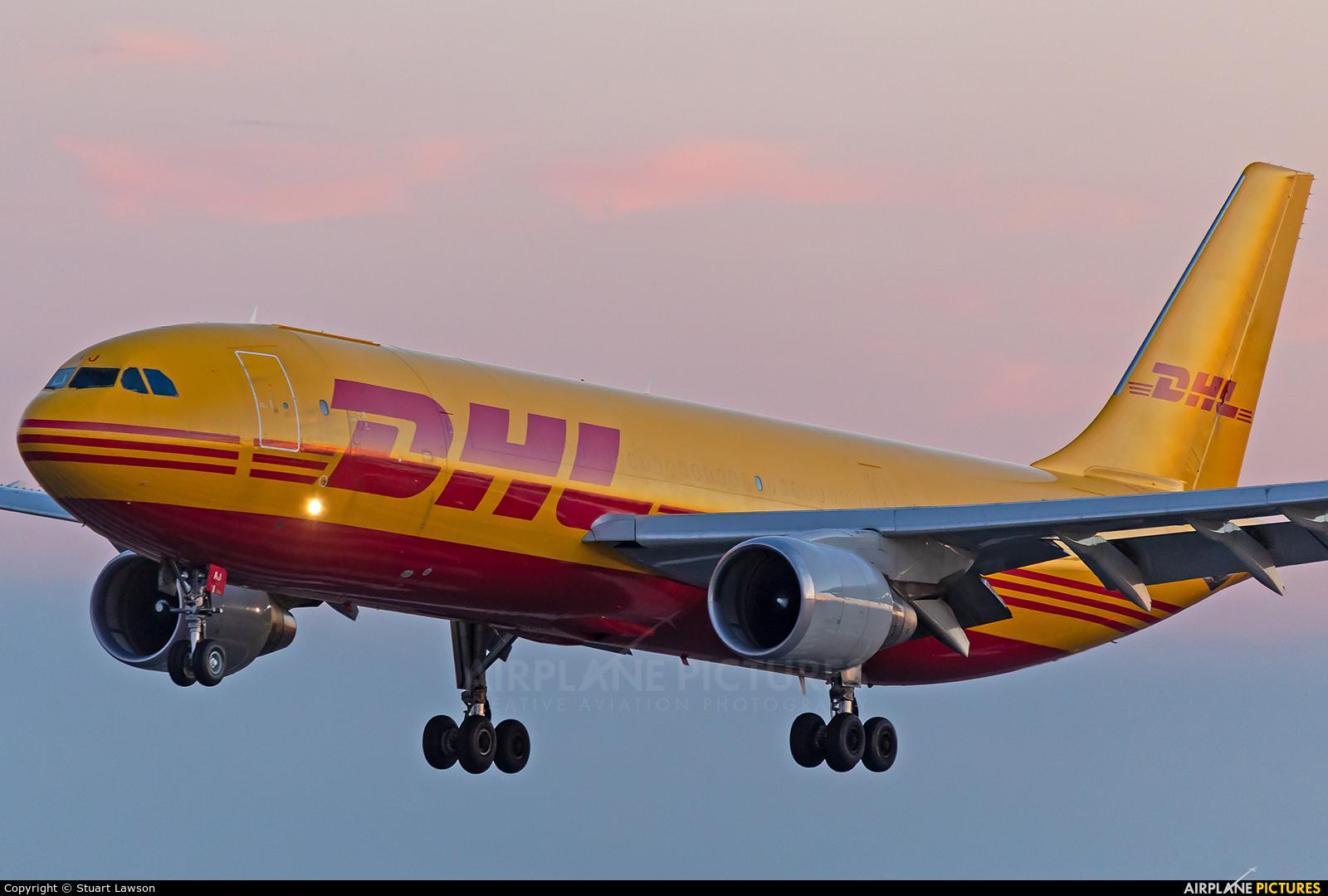 DHL Cargo D-AEAJ aircraft at East Midlands