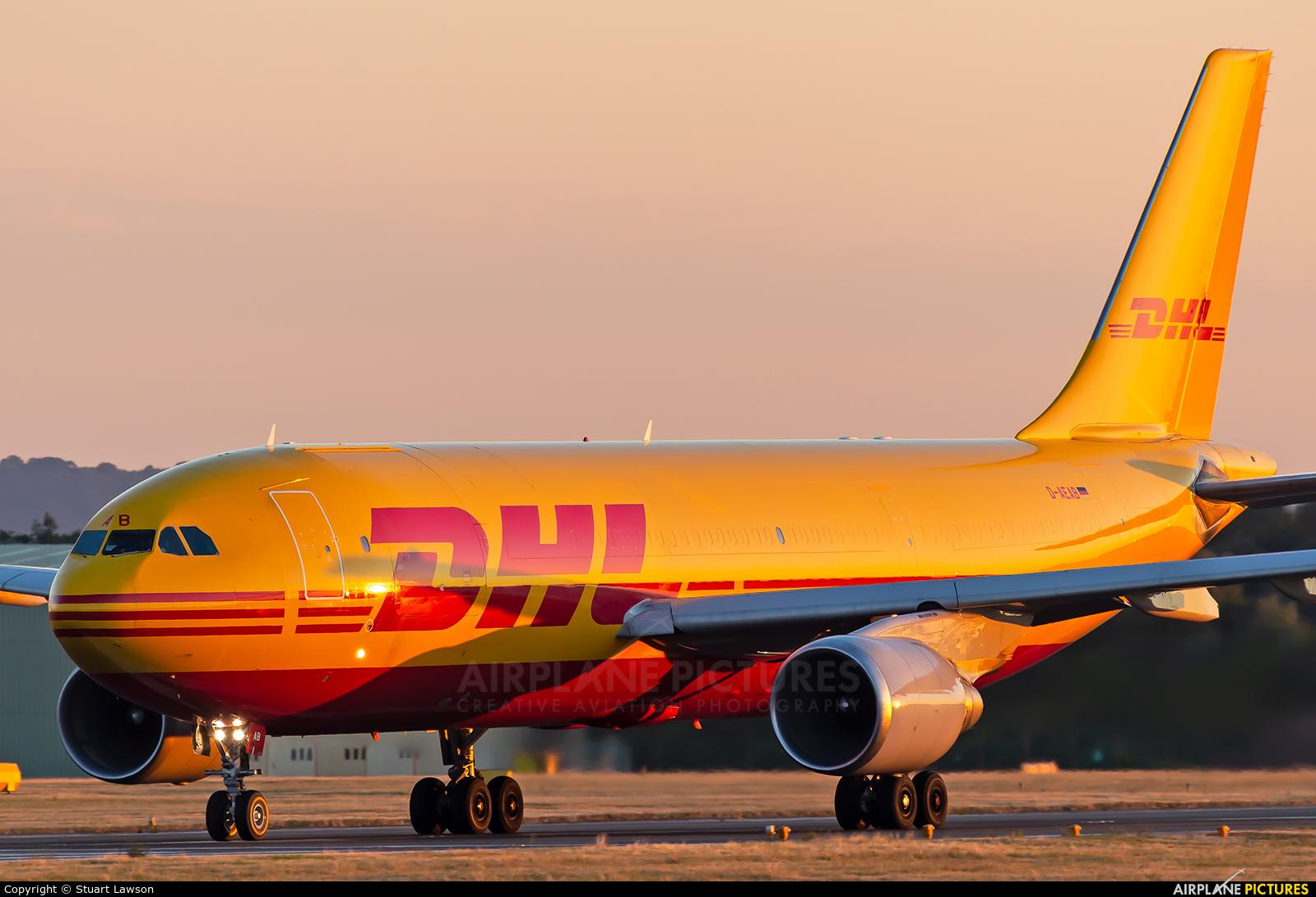 DHL Cargo D-AEAB aircraft at East Midlands