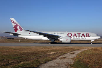 A7-BFK - Qatar Airways Cargo Boeing 777F