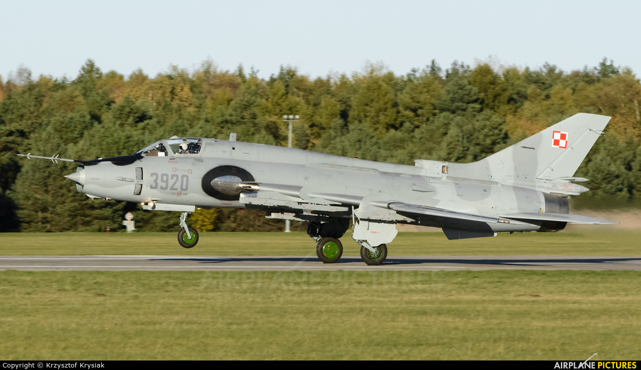 Poland - Air Force 3920 aircraft at Świdwin