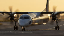 SP-EQF - LOT - Polish Airlines de Havilland Canada DHC-8-402Q Dash 8 aircraft